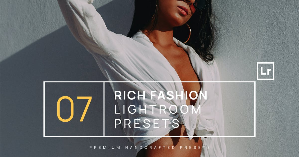 Download 7 Rich Fashion Lightroom Presets + Mobile by zvolia