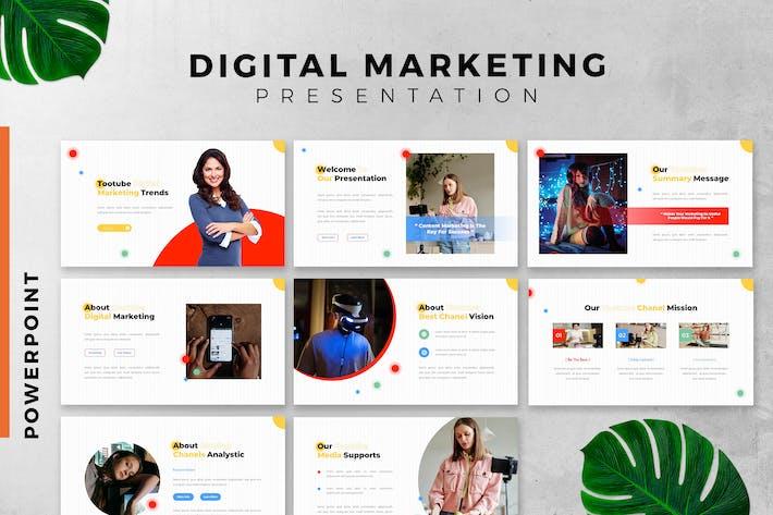 Thumbnail for Презентация слайдов цифрового маркетинга