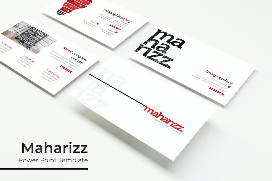 Maharizz - Powerpoint Template