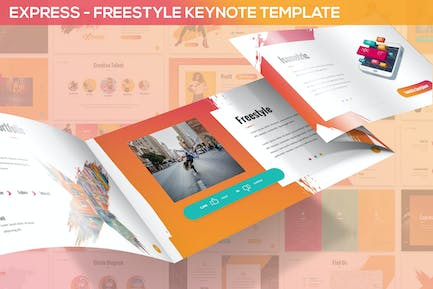 Express - Freestyle Keynote Template