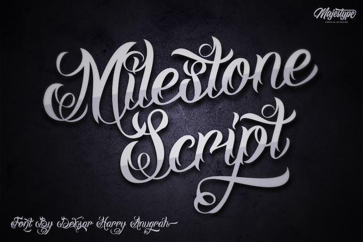 Thumbnail for Milestone Script