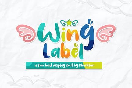 Wing Label