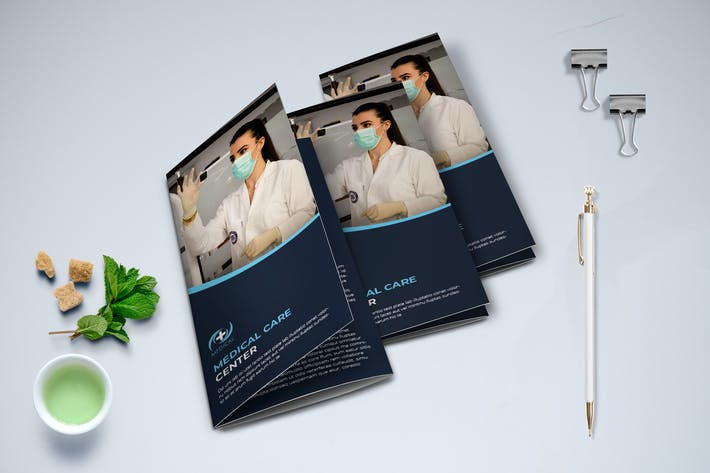 Thumbnail for Trifold Medical Brochure