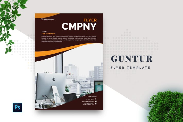 Thumbnail for Guntur Professional Business Flyer