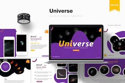 Universo | Plantilla de Diapositivas de Google