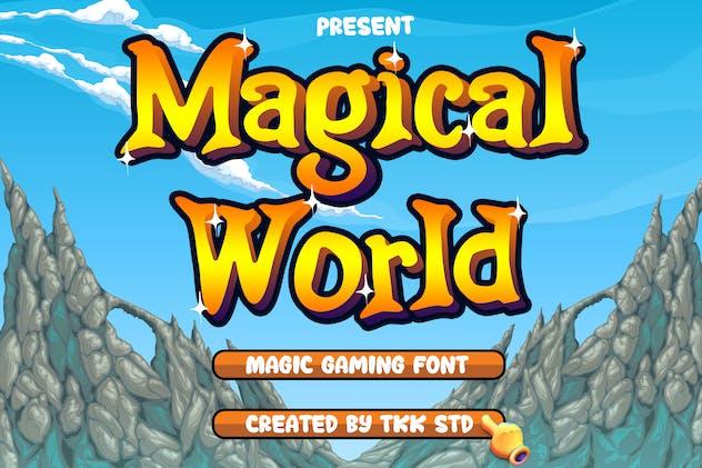 Magical World - Fancy font