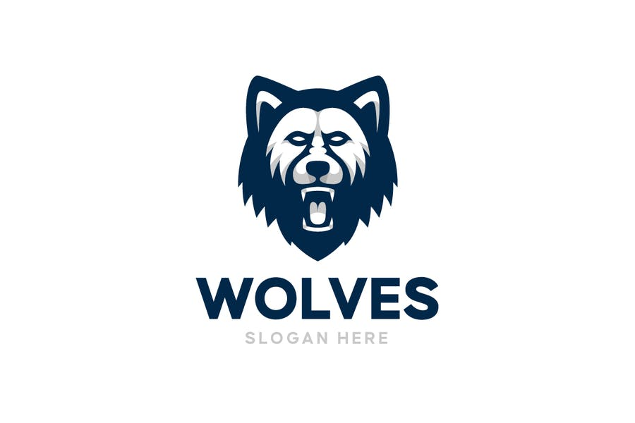 Angry Wolf Logo