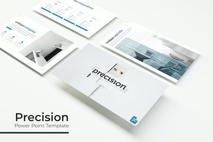 Thumbnail for Precision - Powerpoint Template
