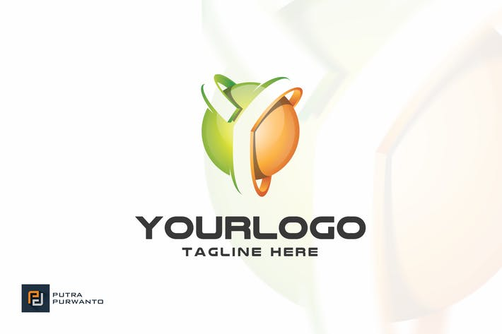 thumbnail for letter y logo template
