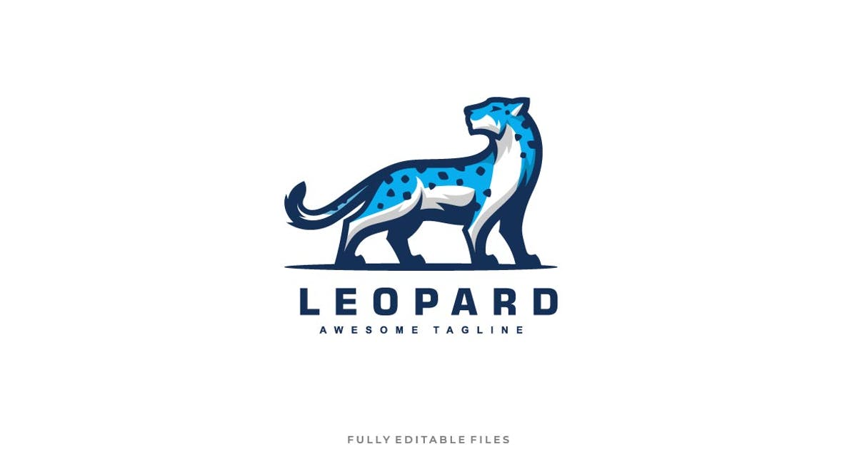 Download Snow Leopard Color Mascot Logo by ivan_artnivora
