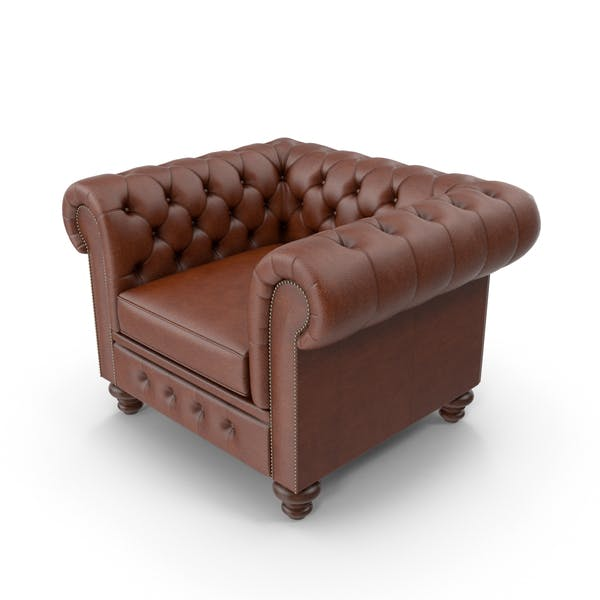Thumbnail for Chesterfield Leather Chair