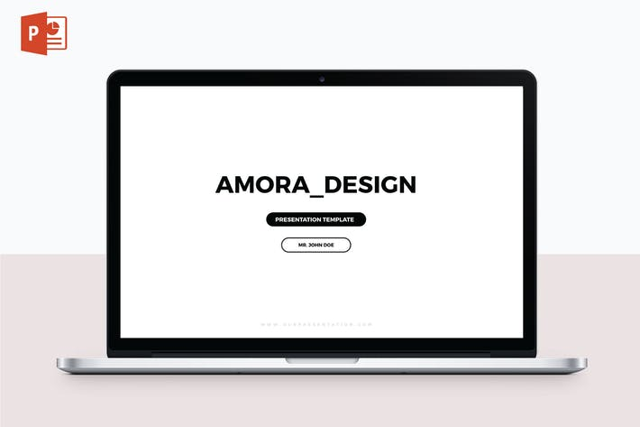 Thumbnail for AMORA - Multipurpose PowerPoint Template V54