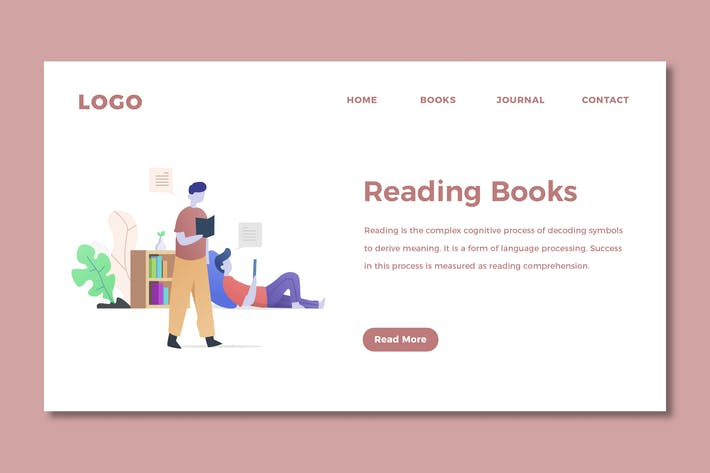 Thumbnail for Reading Books - Web Header