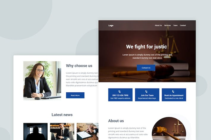 Thumbnail for Law Firm - Email Newsletter