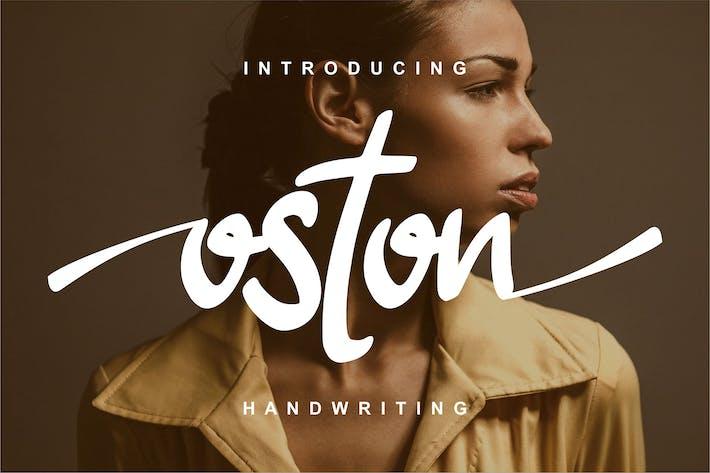 Thumbnail for Oston Handwriting