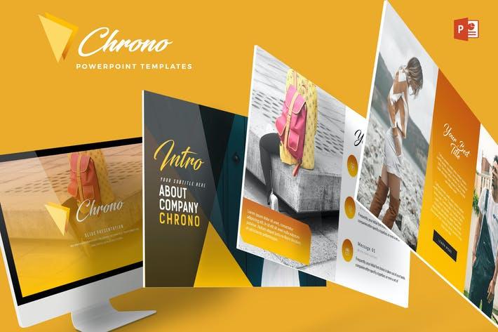 Thumbnail for Chrono - Powerpoint Template