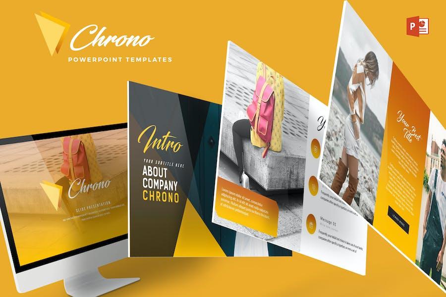 Chrono - Powerpoint-Vorlage