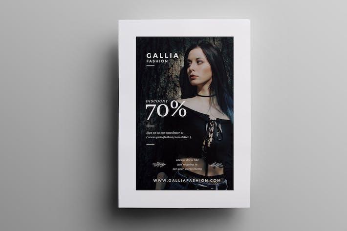 Thumbnail for Folleto de moda