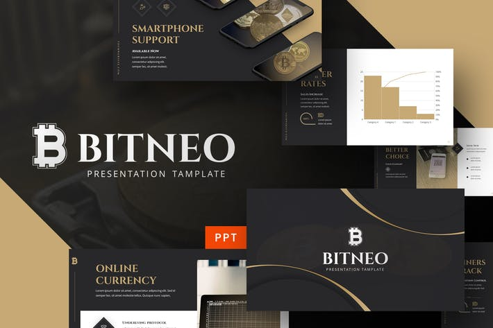 Bitco - Cryptocurrency Powerpoint Template