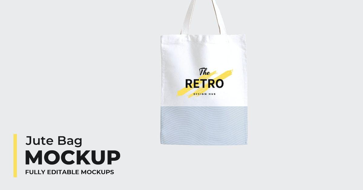 Download Jute Bag Mockups by VictorThemes