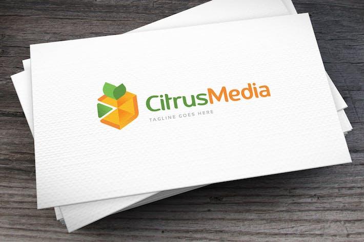 Thumbnail for Citrus Media Logo Template