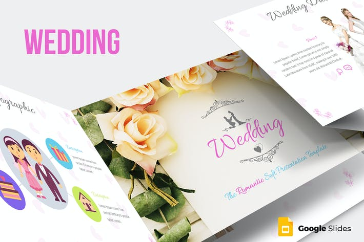 Cover Image For Wedding Google Slides Template