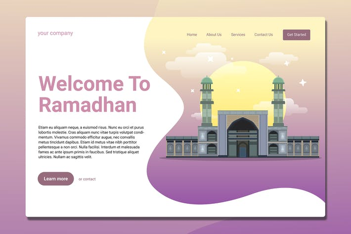 Ramadhan - Landing Page