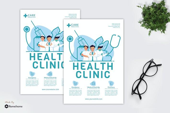 Thumbnail for Health Clinic - Creative Flyer GR