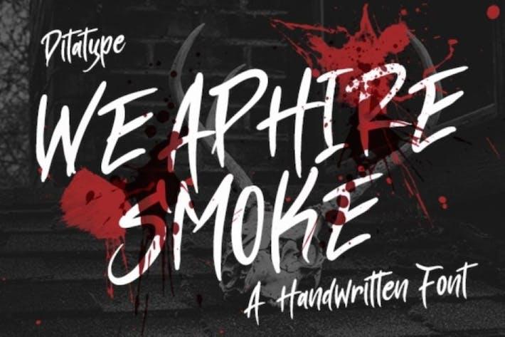Thumbnail for Alquiler de armas Smoke-Handweritten Font
