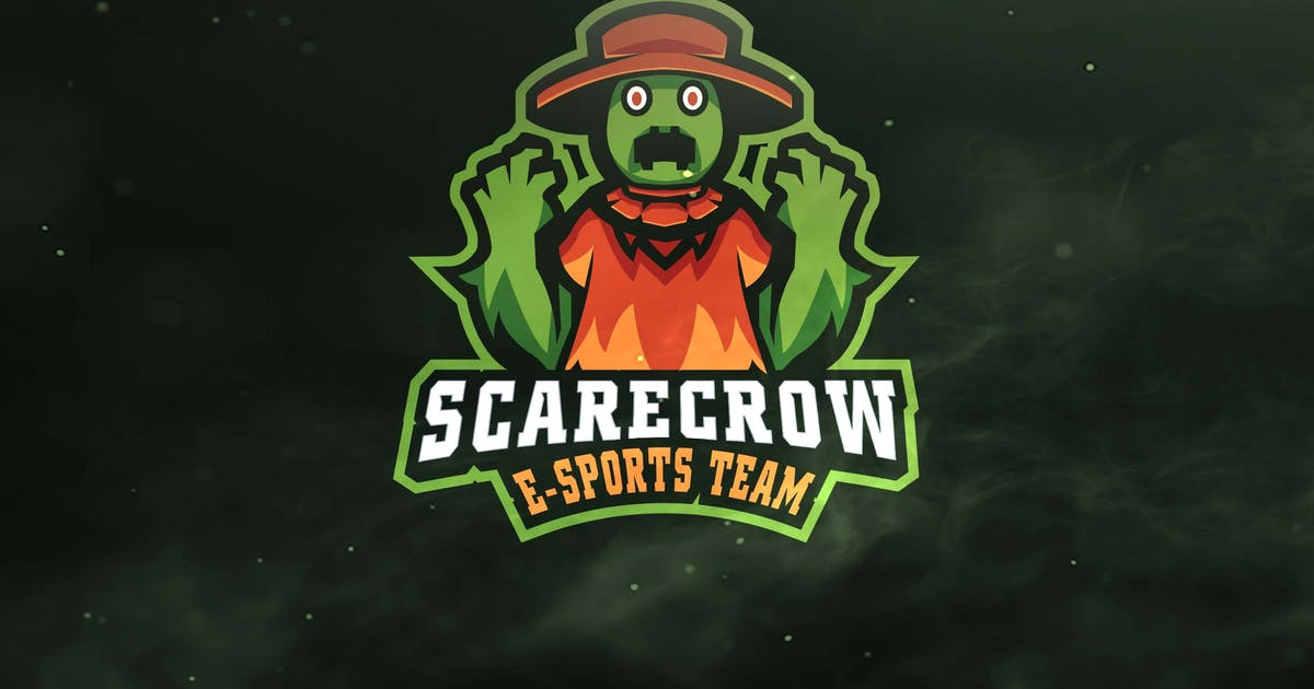 Download Scarecrow Sport and Esports Logos by ovozdigital