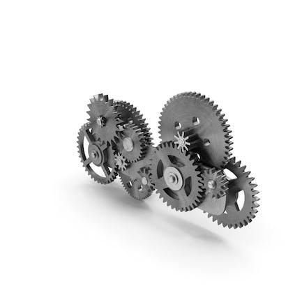 Gear Mechanism Silver