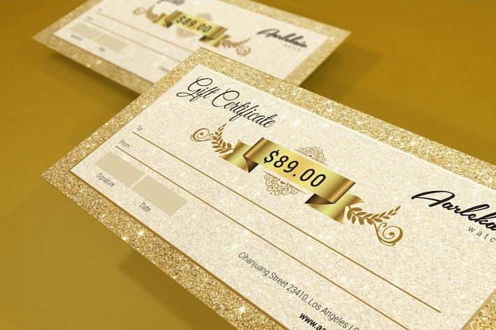 Thumbnail for Elegant Gift Certificate