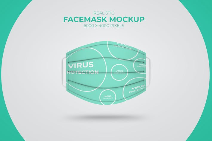 Thumbnail for Medical Face Mask Mockup