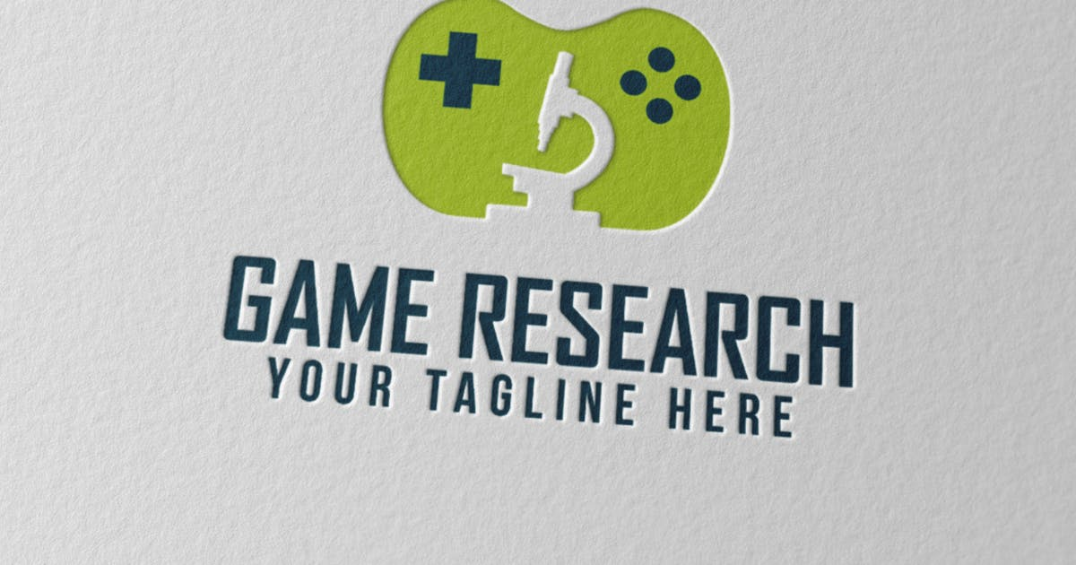 Game Research Logo by Scredeck