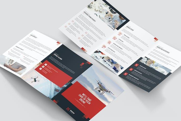 Thumbnail for Brochure – Drone Service Tri-Fold A5