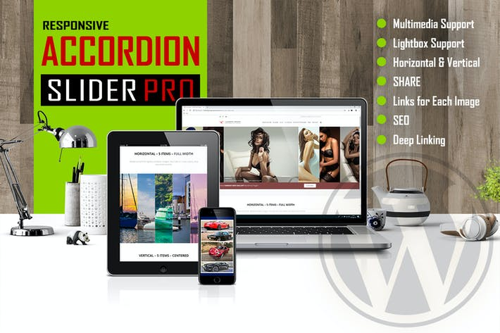 Thumbnail for Accordion Slider PRO - Responsive WordPress Plugin
