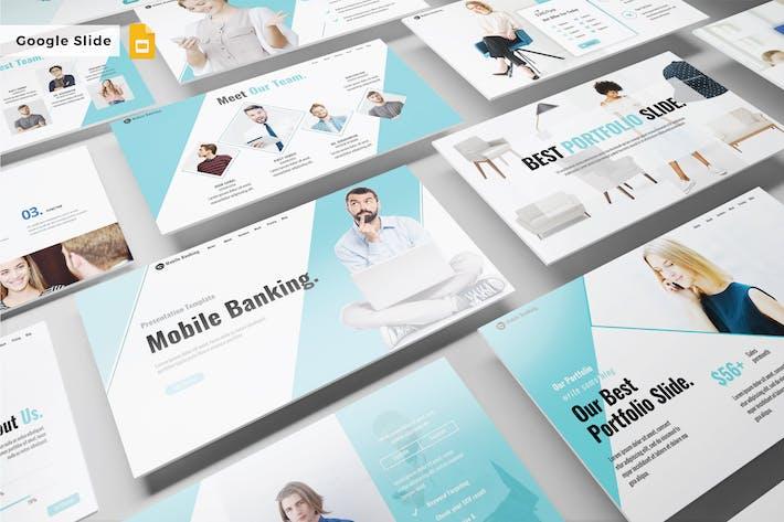 Thumbnail for MOBILE BANKING - Google Slide V459