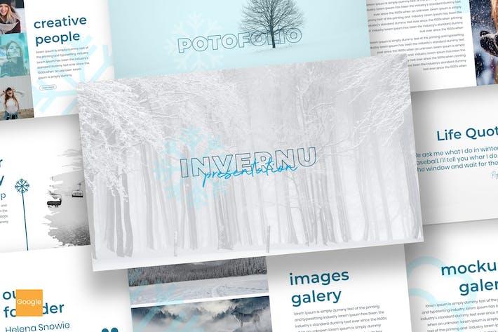 Thumbnail for Invernu - Google Slides Template