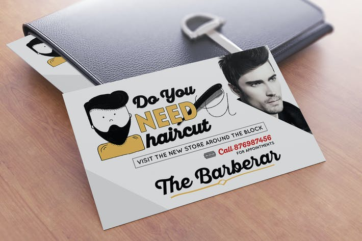 Thumbnail for 2 Barber Shop Postcard
