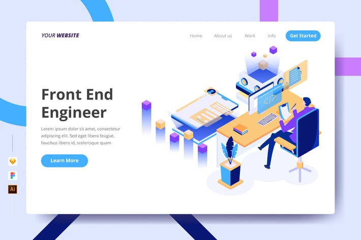 Thumbnail for Front End Engineer - Landing Page