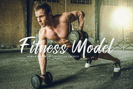 Fitness Model Mobile & Desktop Lightroom Presets