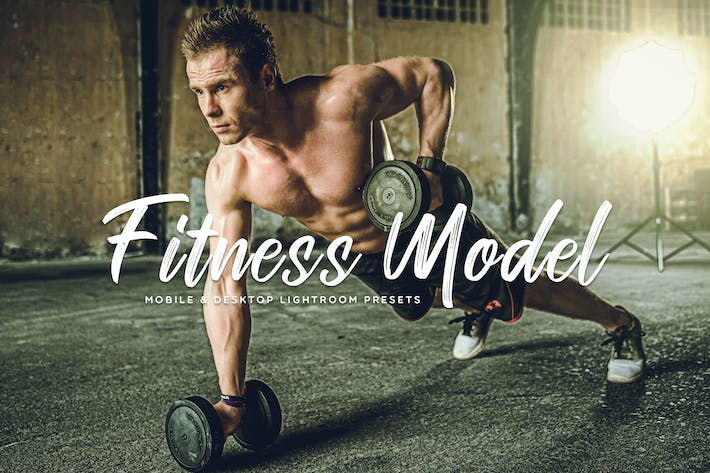 Thumbnail for Fitness Model Mobile & Desktop Lightroom Presets