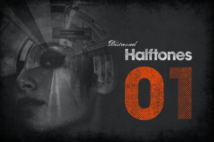 Thumbnail for Distressed Halftones 01