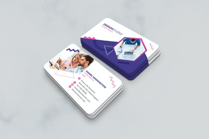 Thumbnail for Business Card – Creative Agency