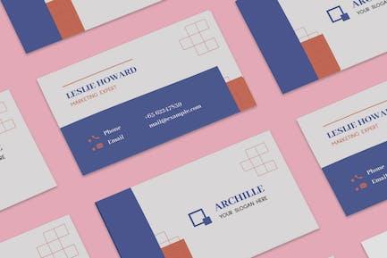 Architecture & Interior Designer Business Card