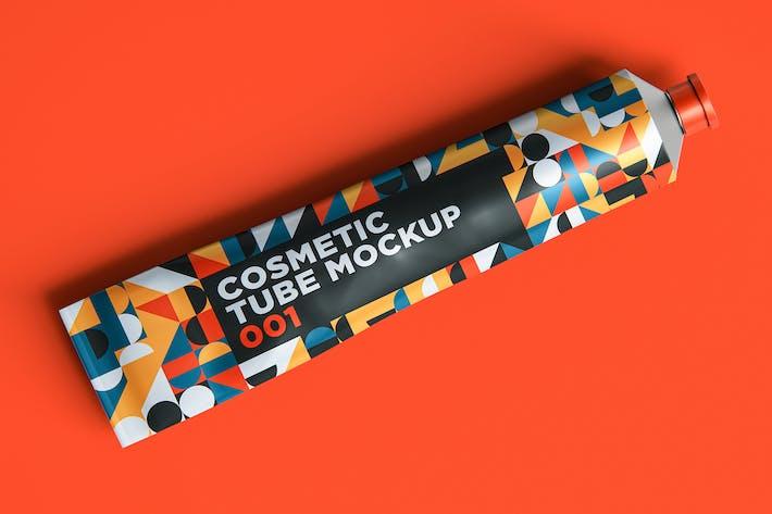 Cosmetic Tube Mockup 001