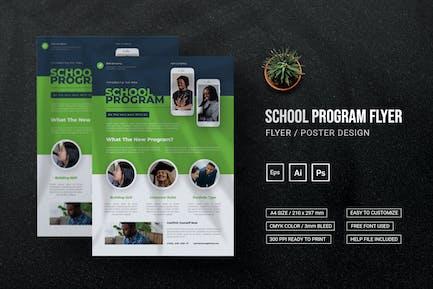 School Program - Flyer