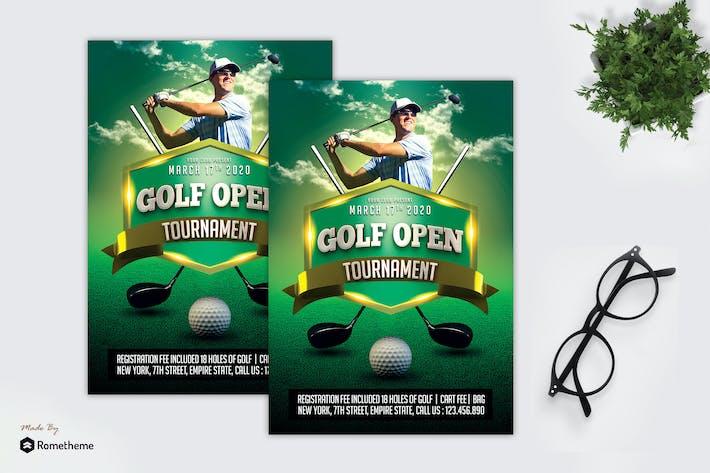 Thumbnail for Golf Tournament - Sport Flyer MR