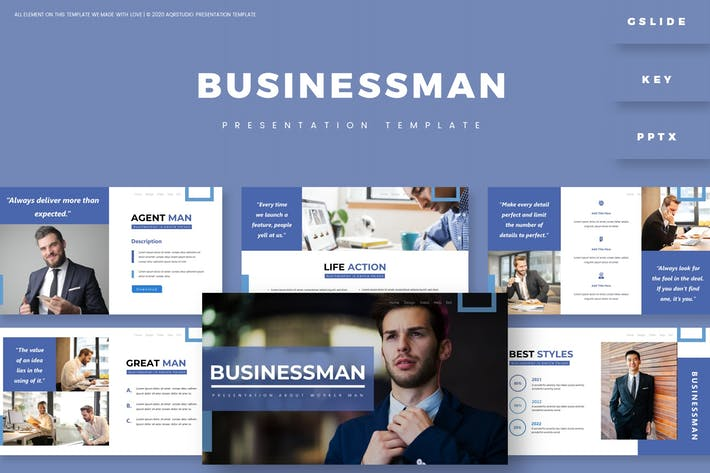 Businessman - Presentation Template