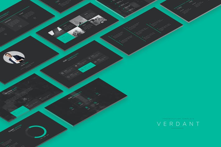 Thumbnail for VERDANT GOOGLE SLIDE.
